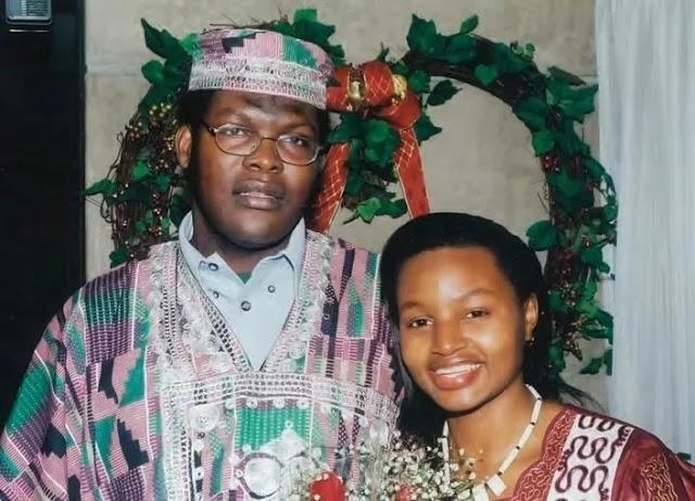 Miguna Miguna and his wife Jane Miguna.