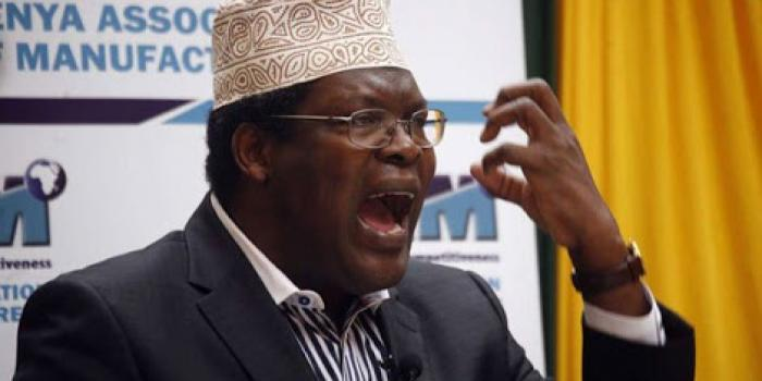Controversial lawyer Miguna Miguna. He narrated of how the ODM Leader Raila Odinga.