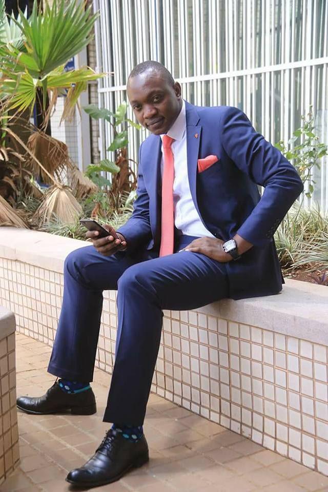 NTV reporter and anchor Ken Mijungu.