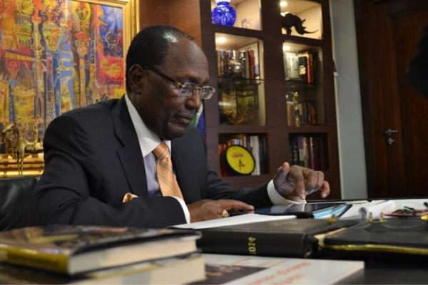 Billionaire Chris Kirubi. On Friday, January 17, he stated that he was building his dream home