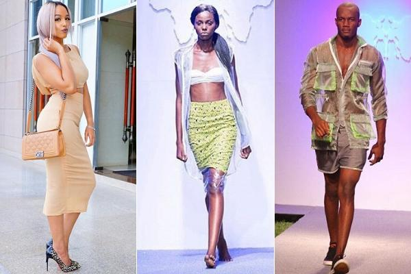 CS Amina's daughter's Capsule clothing line being marketed by models.