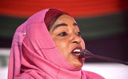 ikoni MP Mishi Mboko. On Friday, October 18 he asked Uhuru Kenyatta to give jobs to old leaders in Mombasa. Photo: File