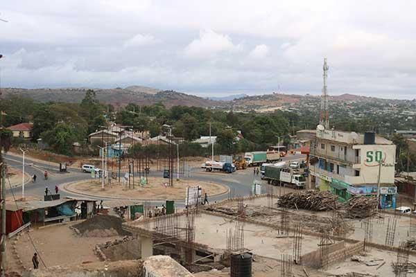 A picture of Moyale town