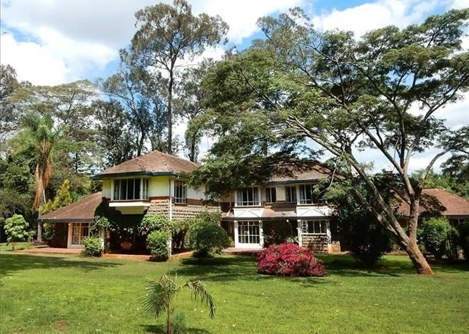 A hig-end house located in Muthaiga.