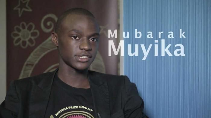 Mubarak Muyika in 2016.