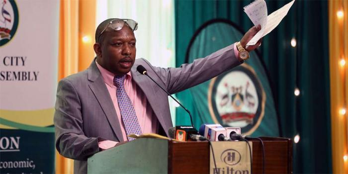 Nairobi Governor Mike Mbuvi Sonko said he had chosen to maintain a low profile to allow the EACC officers to conduct investigations without any interference.