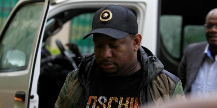 Nairobi Governor Mike Sonko arrives at Milimani Law Courts on Monday, December 9, 2019