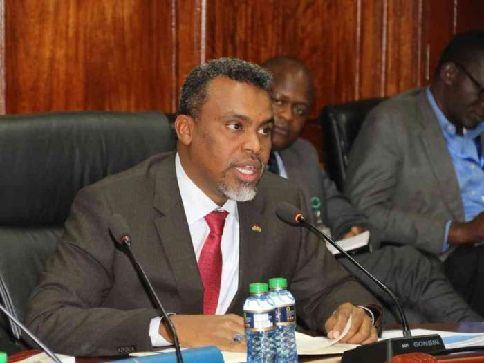 DPP Noordin Haji who on Friday, December 6, ordered the arrest of Nairobi Governor, Mike Sonko