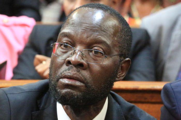 Kisumu Governor Peter Anyang Nyongo. He is accused of looting of looting public funds by lawyer Miguna Miguna.