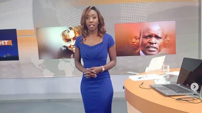 Citizen TV anchor Yvone Okwara.