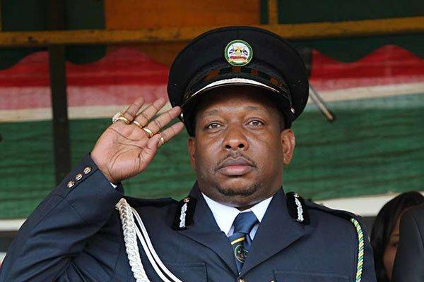 Nairobi Governor Mike Sonko leads Madaraka Day celebrations at Pumwani grounds on June 1, 2019.