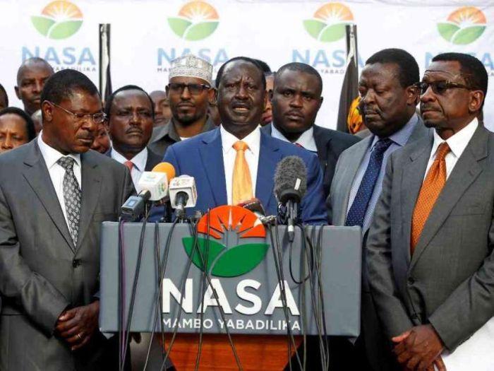 NASA Co-Principals Fight Raila Over Ksh4B - Kenyans.co.ke