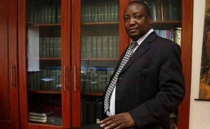Lawyer Gershom Otachi was nominated to head the National Land Commission