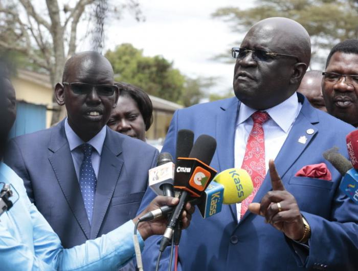 Education CS George Magoha on Friday, November 8, 2019, vowed to vouch for the promotion of Chief