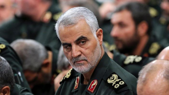 Iran's most powerful military commander, General Qasem Soleimani who was killed on Thursday, January 2