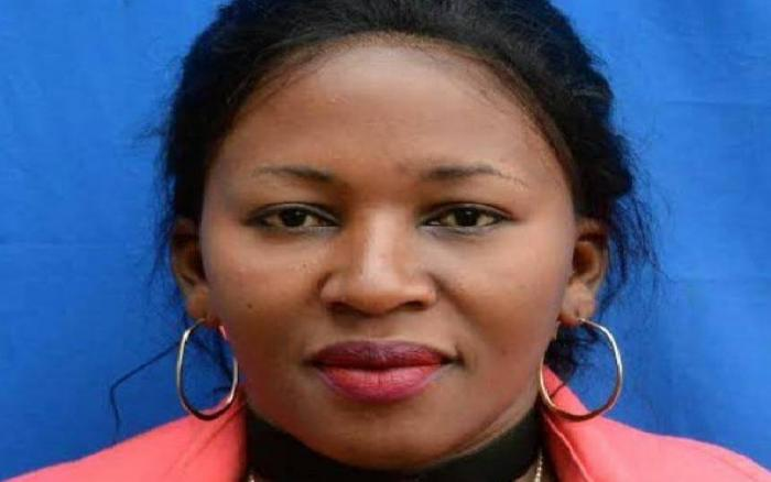 Nominated MCA Judy Mbuya who was dewhipped after committing a raft of offenses including calling her male colleagues uncircumsised