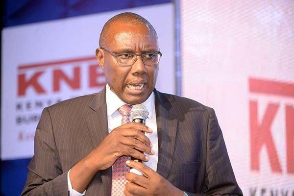 KNBS Director General Zachary Mwangi who read census results on Monday, November 4