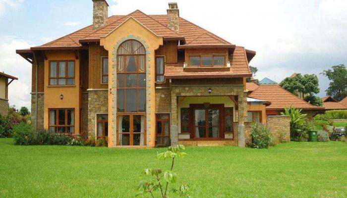 Raila Odinga's Karen mansion.