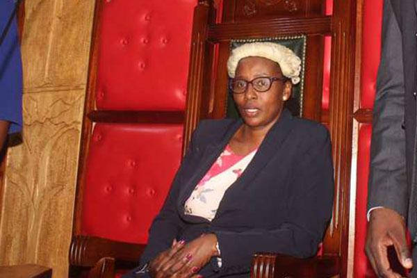 Beatrice Elachi resumes her duties as Speaker of Nairobi County Assembly on October 10, 2019.