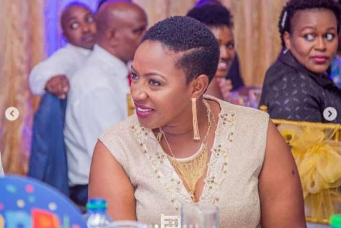 Murang'a Woman Rep Sabina Chege pictured during the celebration of her 40th birthday in August 2018.