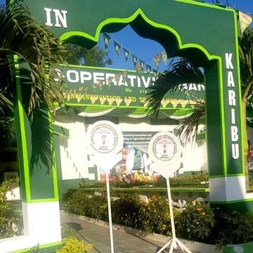The Co-operative Bank of Kenya stand at the 2019 ASK Mombasa International Trade Fair. It was named Overall Winner in the Best Bank category and also the Large Trade Stand