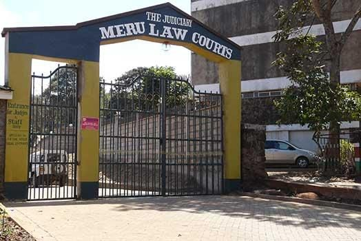 The Meru Law Courts. A woman who was paralysed while she gave birth won in her lawsuit against the hospital she accused of negligence