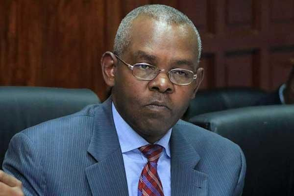 Suspended PS Kamau Thugge