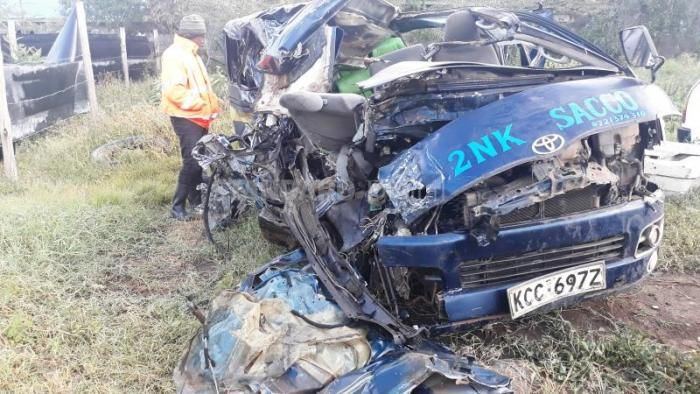 In a report released on Wednesday, October 15 by NTSA, five people are reported to die from road accidents daily.