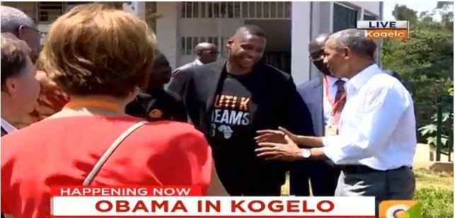Barack Obama Makes Thrilling Dance Moves With Mama Sarah ...