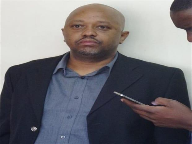 KTN's Point Blank show host Tony Gachoka after his arrest