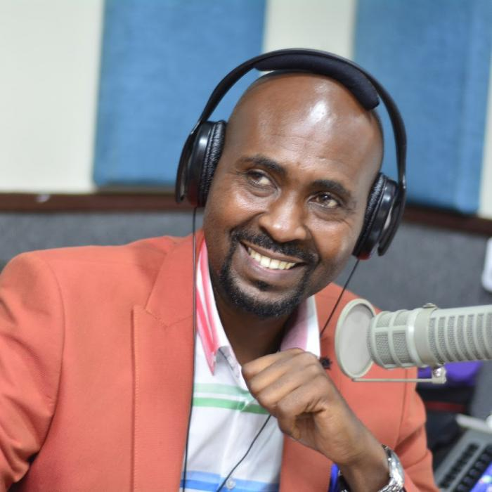 Former Kameme FM Presenter Man Nyari. He was among those who were laid off on Wednesday, October 30.