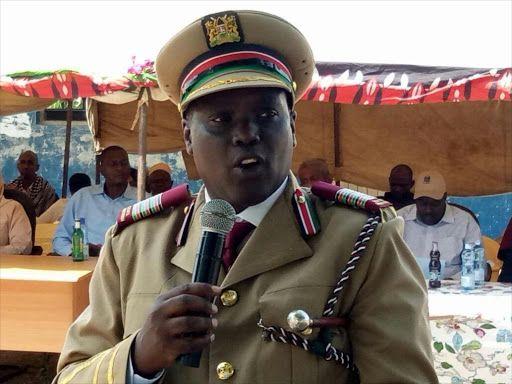 Mombasa County Commissioner Gilbert Kitiyo