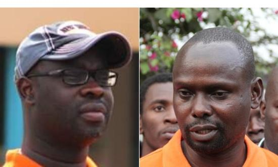 Ken Okoth(left) was on November 7 succeeded by his brother, Imran okoth  as member of parliament for Kibra.
