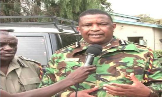 Image result for Images of Samburu County Police Commander Karanja Miruri