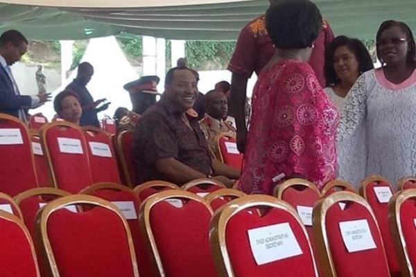 Kiambu Governor Ferdinand Waititu was confronted by Mashujaa Day event organisers after he sat on a seat reserved for Mombasa Woman Representative Asha Hussein on Sunday, October 20.