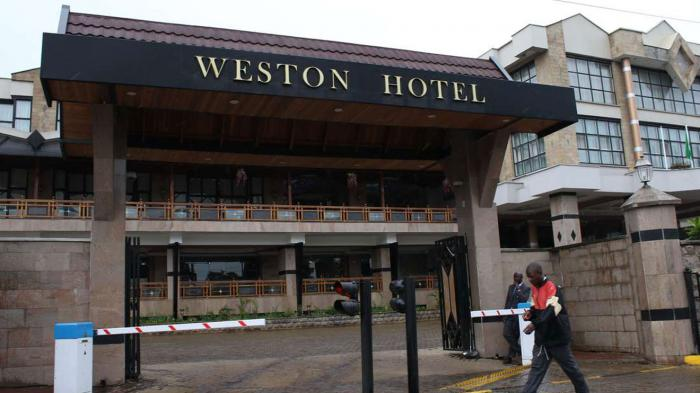 Weston Hotel front view