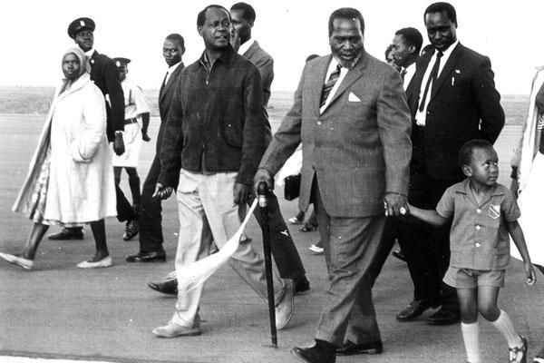 Image result for uhuru and his father