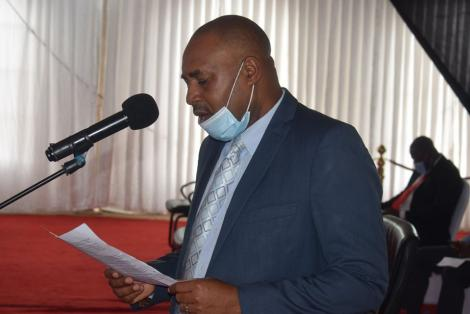 Kitui County Assembly Majority Leader Peter Kilonzo