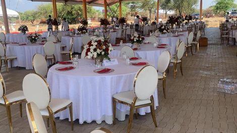 Wedding of Senator Samburu Steve Lelegwe in Kajiado County on November 21, 2020