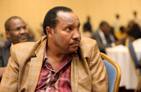 Former Kiambu Governor Ferdinand Waititu at Movenpick Hotel during Council of Governor's election on January 20, 2020.