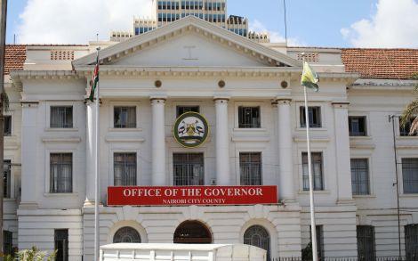Nairobi County Headquarters at City Hall