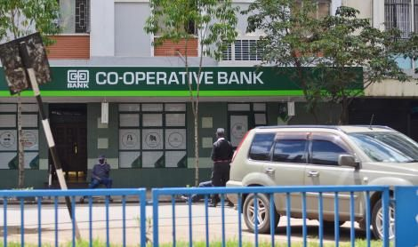 Co-operative Bank Branch Along Kenyatta Avenue in Nairobi. Monday, October 21, 2019.