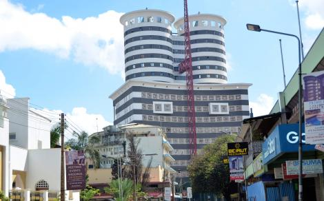 Nation Centre Building in Nairobi CBD