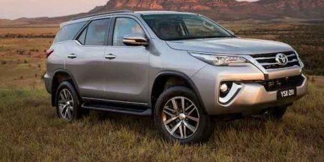 A 2019 Toyota Kenya
