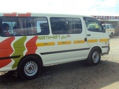 A North Rift shuttle Matatu.