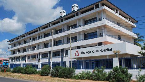 The Aga Khan Hospital located in Kisumu