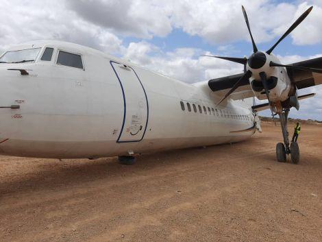 An image of a plane crash