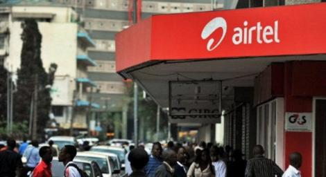 A file image of an Airtel shop
