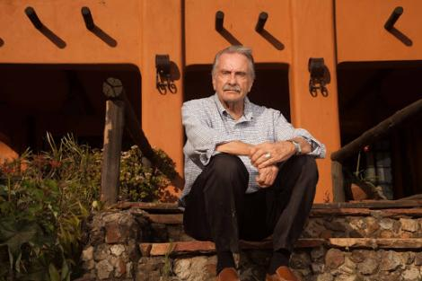 Alan Donovan Outside The African Heritage House Source: Twitter