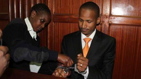 Embakasi East MP Babu Owino when he appeared before Milimani Law Court on January 20, 2020